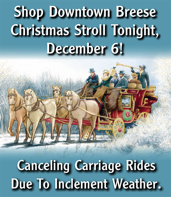 cancelled carriage rides