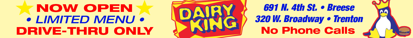 Dairy King Open May 1